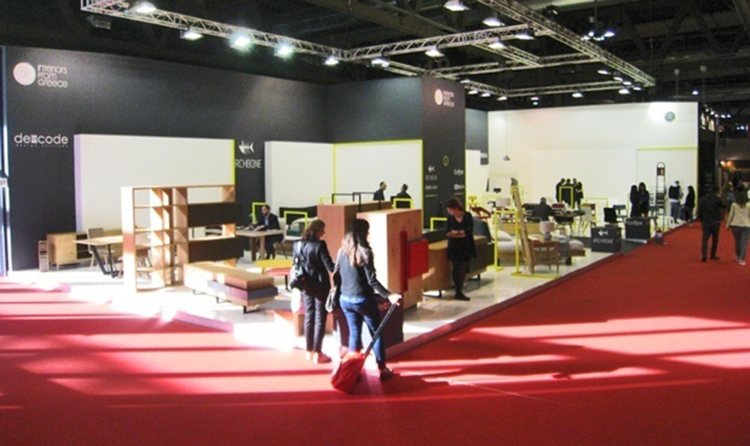 Greek Group Stand concept στη Salone del Mobile.Milano για τρίτη συνεχόμενη φορά