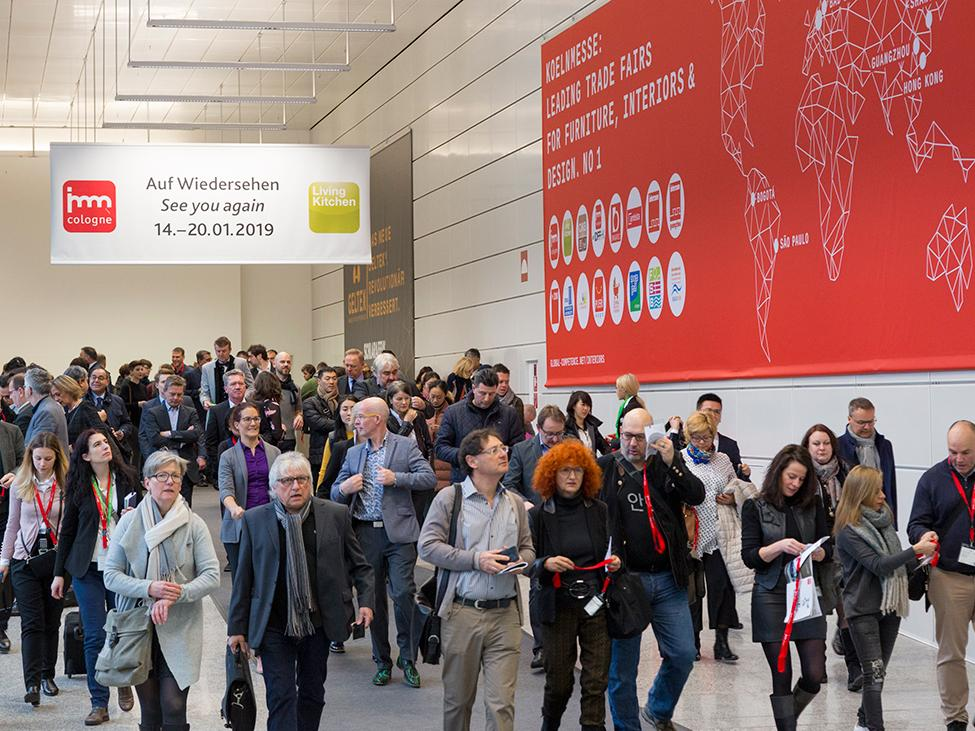 imm cologne 2018: around 125.000 visitors from 138 countries